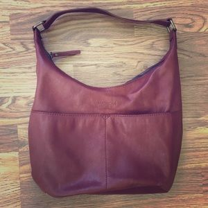 American Leather Co shoulder bag